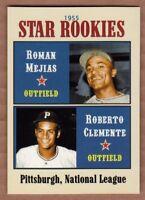 Roberto Clemente & Roman Mejias '55 Rookie Stars, Superior limited edition