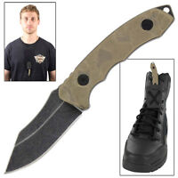 Tactical Fixed Blade Glacier Park Boot Knife