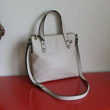 the Sak Collective Genuine Cream Off White Leather Medium Crossbody Bag Purse