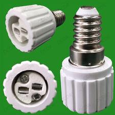 20x Small Screw SES E14 To MR16 GU5.3 Light Bulb Adaptor Lamp Converter Holder