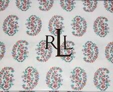 2 Ralph Lauren ANTIGUA Floral PAISLEY KING Pillowcases NIP MSRP $93 DISCONTINUED