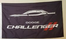New! Dodge Challenger 3x5 Ft. Flag Banner Fast Free Shipping!