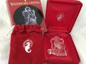Waterford Crystal Angel ornament 1998 4th edition with original box