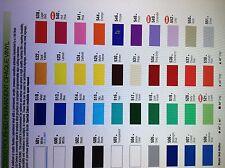 "12"" General Formulations Vinyl (Craft hobby/sign ), 6 Rolls@ 5' Ea. (40 Colors)"