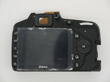 Original Rear Back Cover ASSY Plate + LCD + Button Replacement for Nikon D3200