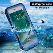 For Apple iPhone 7 Waterproof Case Full-body Built-in Screen Protector