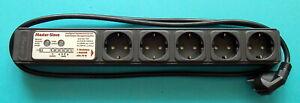 Kopp  1+4fach Master-Slave Steckdosenleiste Geräteschutz-Überspannungsfilter