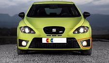 NEW GENUINE SEAT LEON CUPRA FR 06-13 FRONT N/S LEFT FOG LIGHT GRILL BLACK