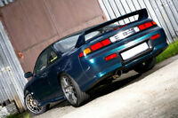 REAR BUMPER SPOILER / SKIRT / COMPATIBLE WITH NISSAN 200SX 240SX S14 RACING EDIT