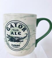 Gator Tail Ale Florida mug 16 ounces ceramic alligator cup