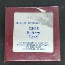 Nist Standard Reference Material C2415 Battery Lead