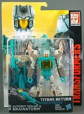 Hasbro TRANSFORMERS GENERATIONS TITANS RETURN DELUXE BRAINSTORM (New in Stock)