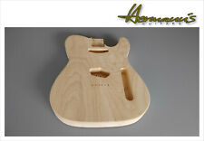 Telecaster 2 piece Swamp Ash replacement body, sin pintar, Unfinished nº 4