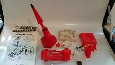 Vintage Remco Science Kit Rocket and Jet Turbine plus other parts
