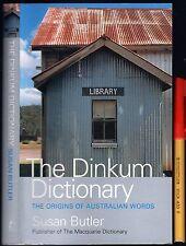 Rare The DINKUM DICTIONARY Origins of AUSTRALIAN WORDS Susan Butler MAQUARIE EC+