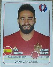 359 Dani Carvajal SPAIN Panini Euro 2016 France sticker