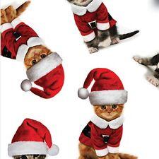 "Santa Cat / Kitten Christmas Tissue Paper #841  ....10 lg. sheets 20"" x 30"""