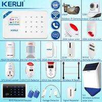 KERUI W18 WIFI GSM Home Burglar Security Alarm System Wireless Accessories Lot