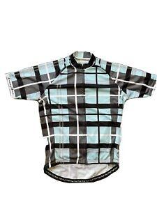 Danny Shane Cycling Jeresy Blue/Black Large Used