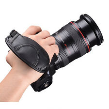 Camera DSLR Hand Grip Strap Universal For Canon Nikon Sony Minolta PU Wrist