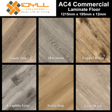 12mm AC4 Laminate Flooring Sample Floating Timber Floor Boards Click Lock