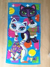 Rare Vintage Lisa Frank Roxy and Rollie Beach Towel