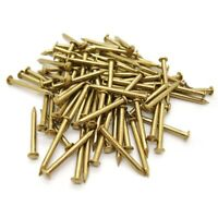200 Pcs Miniature Nails Round Head Nails For Small Hinges Doll Houses Delic