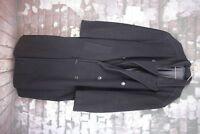 Hugo Boss Pure New Wool Navy Coat size 52 No.T116 06/2