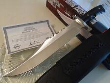 "Gil Hibben Magnum Bowie Combat Hunter Knife GH5050 3Cr13 Full Tang Micarta 18.5"""