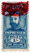 (I.B) Australia - Queensland Revenue : Impressed Duty 1/-