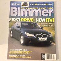Bimmers BMW Magazine BMW's New 5 & M1 October 2003 052617nonrh2