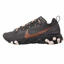 Nike W React Element 55 Running Womens Shoes Oil Grey CT1186-001