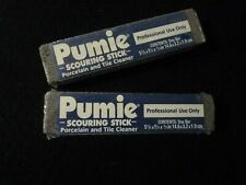 """2x """"Pumie"""" Scouring Sticks for Porcelain, Tile, and other problem cleaning area"""