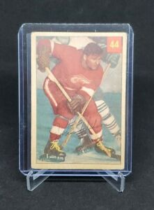 1954-55 Parkhurst JOHNNY WILSON #44 RARE DETROIT RED WINGS