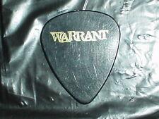WARRANT Logo & Dixon U Jerry Bass 1996 Ultraphobic RaRe Concert Tour GUITAR PICK