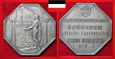 SCHWIMMEN MEDAILLE DSV SBS SCHWABEN STUTTGART I. SIEGER LAGENSTAFFEL 1921
