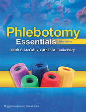 PHLEBOTOMY ESSENTIALS (5TH EDITION), LIKE NEW, FREE SHIPPING WITH TRACKING