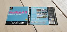 * PS1 * WipeOut 3 Special Edition * Front and back cover * RARE * PlayStation *