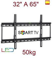 "Soporte de pared para TV LCD LED 4K SMART TV PLASMA 32"" a 65"" 50kg SUPER OFERTA"