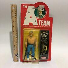 1983 Vintage Galoob The A-Team John Hannibal Smith Action Figure BoxWear See.