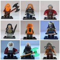 Lord Of The Rings The Hobbit Thorin Dwarfs Soldier Models Toys Mini Figures