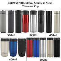 400 /450 /500 /600ml Thermos Coffee Travel Mug Stainless Steel Vacuum Flask Cup