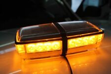 ULTRA TOW 24 LED Warning Emergency Hazard Rooftop Flash Strobe Light Bar Amber