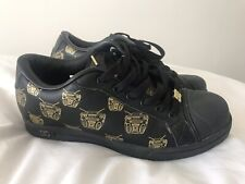 Limited Edition Rare DC Travis Barker Remix Black Gold Trainers UK 6 NEW