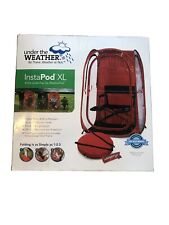 NEW Under the Weather InstaPod XL Pop Up Sports WeatherPod Carrying Bag & Stakes