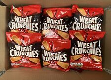 Spicy Tomato Wheat Crunchies x 10 Bag Mega Box Bargain. Free P&P.