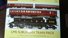 HORNBY OO GAUGE LMS SUBURBAN TRAIN PACK (LIMITED EDITION) R3397, DCC READY