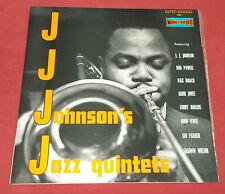 JJ JOHNSON'S JAZZ QUINTET ORIG LP FR