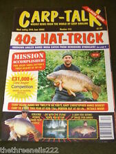 CARP TALK #412 - RIVER TIPS - JUNE 29 2002