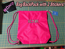 Ronix Wakeboards Bag/Backpack With 2 Stickers/Decals